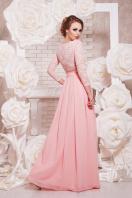 вечернее платье мятного цвета. платье Марианна д/р. Цвет: персик купить