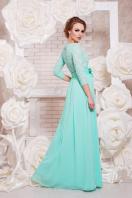 вечернее платье мятного цвета. платье Марианна д/р. Цвет: мята цена