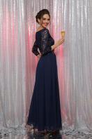 вечернее платье мятного цвета. платье Марианна д/р. Цвет: синий купить