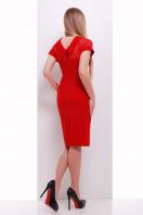 Платье по фигуре черного цвета с верхом из сетки. платье Алесандра к/р. Цвет: красный купить