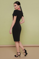 черное платье с маками. Маки платье Питрэса-КД к/р. Цвет: черный цена