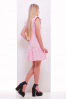 мятное платье с кружевом. платье Южана б/р. Цвет: розовый купить