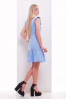 мятное платье с кружевом. платье Южана б/р. Цвет: голубой купить