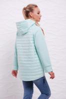 куртка мятного цвета с капюшоном. Куртка 15. Цвет: мята купить