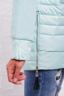 куртка мятного цвета с капюшоном. Куртка 15. Цвет: мята в интернет-магазине