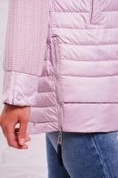 куртка мятного цвета с капюшоном. Куртка 15. Цвет: пудра цена