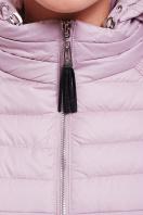 куртка мятного цвета с капюшоном. Куртка 15. Цвет: пудра в Украине
