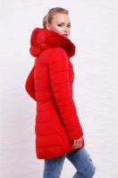 теплая бежевая куртка. Куртка 888. Цвет: красный купить