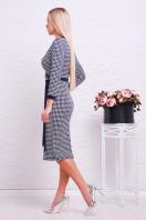 темно-синее платье лапки. платье Исидора д/р. Цвет: т.синий-лапка цена
