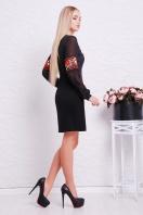 платье черного цвета с маками. Красные маки платье Талина д/р. Цвет: черный купить