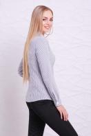рубашка в полоску для работы. блуза Рубьера д/р. Цвет: белый-черная м. полоска купить