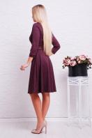 повседневное синее платье. платье Ларена д/р. Цвет: бордовый-джинс цена