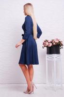 повседневное синее платье. платье Ларена д/р. Цвет: синий-джинс купить