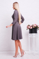 повседневное синее платье. платье Ларена д/р. Цвет: серый-джинс цена