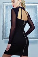 короткое черное платье на праздник. платье Доляна д/р. Цвет: черный купить