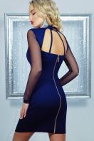 короткое черное платье на праздник. платье Доляна д/р. Цвет: синий купить