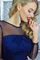 нарядное бордовое платье. платье Агния д/р. Цвет: темно синий цена