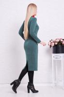 . платье Габриела д/р. Цвет: св. изумрудный купить