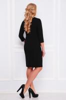 черное платье с молнией спереди. платье Арина-Б д/р. Цвет: черный купить