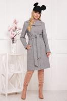 бордовое пальто с английским воротником. пальто П-319. Цвет: 1304 цена