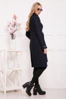 бордовое пальто с английским воротником. пальто П-319. Цвет: 1306 цена