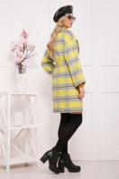 клетчатое пальто прямого кроя. пальто П-300-90. Цвет: 1704 цена