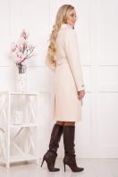 бордовое пальто с английским воротником. пальто П-319. Цвет: 1305 цена