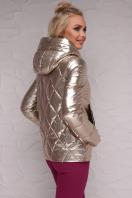 золотистая куртка с капюшоном. Куртка 18-28. Цвет: золотой купить