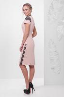 мятное платье с кружевом. платье Светла к/р. Цвет: персик цена