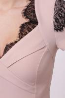мятное платье с кружевом. платье Светла к/р. Цвет: персик в интернет-магазине