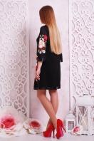 платье-трапеция с цветами. Букет маки платье Тая-3КК д/р. Цвет: принт цена