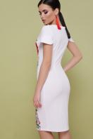 . Маки платье Питрэса-КД к/р. Цвет: белый купить