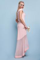 темно-синее вечернее платье. платье Ингрид б/р. Цвет: персик купить