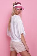 свободная блузка с фламинго. Фламинго блуза Мартина-П к/р. Цвет: принт купить