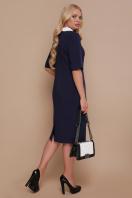 черное офисное платье. платье Ундина-Б 3/4. Цвет: синий купить