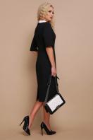 строгое черное платье. платье Ундина 3/4. Цвет: черный купить