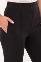 черные брюки со стрелками. Брюки Бенжи. Цвет: черный в интернет-магазине