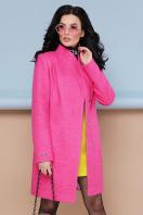 бирюзовое пальто с поясом. пальто П-308. Цвет: 1210-малина цена