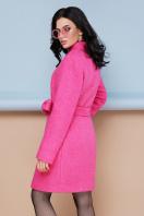 бирюзовое пальто с поясом. пальто П-308. Цвет: 1210-малина в интернет-магазине