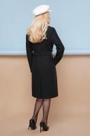классическое пальто сливового цвета. пальто П-316-100. Цвет: 1005-черный цена