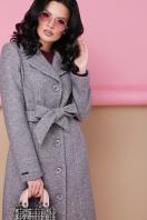. пальто П-316-100. Цвет: 1309-серый цена