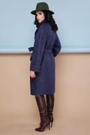 . пальто П-303-100. Цвет: 1501-т.синий в интернет-магазине
