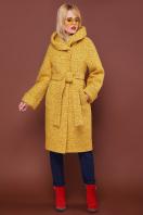 . пальто П-304-100. Цвет: 1406-желтый купить