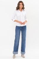 белая блузка с рукавом 3/4. блуза Марти 3/4. Цвет: белый купить