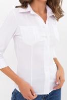 белая блузка с рукавом 3/4. блуза Марти 3/4. Цвет: белый в интернет-магазине