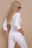 белая блузка с рукавом 3/4. блуза Марти 3/4. Цвет: белый в Украине