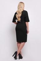 бежевое приталенное платье. платье Руся-Б к/р. Цвет: черный купить