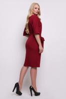 темно-синее платье больших размеров. платье Руся-Б к/р. Цвет: бордо купить