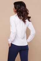 белая рубашка с длинным рукавом. блуза Кери д/р. Цвет: белый недорого