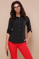 черная блузка с длинным рукавом. блуза Кери д/р. Цвет: черный цена